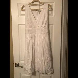 70490149195 jcpenney Dresses - Corey P (JC Penney) White summer dress